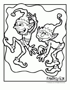 http://www.fantasyjr.com/christmas-elves-coloring-pages/