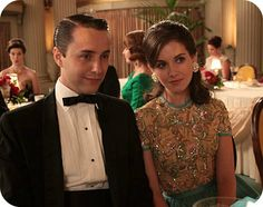 """I believe this is Trudy's outfit to Margaret's (Roger's daughter) wedding in season 3, episode 12 """"The Grownups""""."""