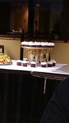 Razzle dazzle cupcake stand