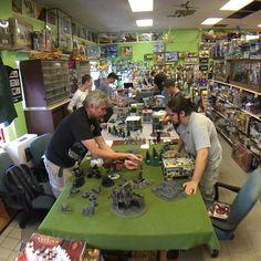 #warhammer40k at Bobe's Hobby House #gameday