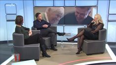 Anja Petzold, Tv, Lady, Legs, Television Set, Television