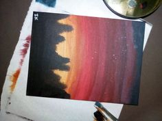 Ink, Painting, Painting Art, Paintings, India Ink, Painted Canvas, Drawings