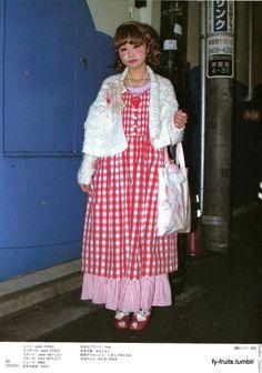 """fy-fruits: """" Manapyon, 23y/o, KINJI """" Asian Street Style, Japanese Street Fashion, Tokyo Fashion, Harajuku Fashion, Kawaii Fashion, Vivienne Westwood, White Collar, Twin Set, Cool Outfits"""
