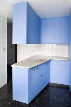 Curutchet House | Le Corbusier. Poto by Olivier Martin-Gambier. #bluekitchen