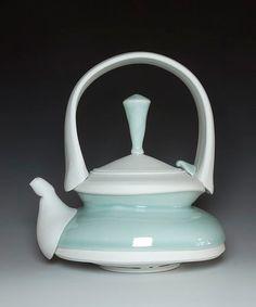 Mike Jabbur Teapot porcelain