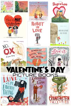 Top kid friendly love books to read at school or home for Valentine's Day!