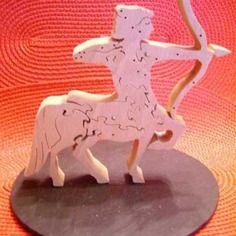 """Puzzle en bois massif signe du zodiaque """"le sagittaire"""""""