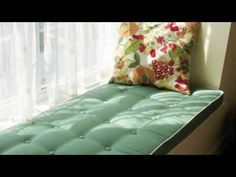 How to Measure for a Custom Window Seat Cushion Cushion Source, Window Seat Cushions, Custom Cushions, Perfect Pillow, Mattress, Projects To Try, Windows, Throw Pillows, Bed