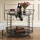 Found it at Wayfair - Naples Serving Cart