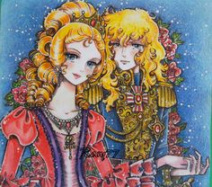 Lady Oscar and Marie Antoinette first floor by RosyChiovaro77 on DeviantArt