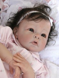 "Reborn Doll Baby Girl ""Layla"" www.wonderfinds.com/item/3_221227745931/c122723/Reborn-baby-girl"