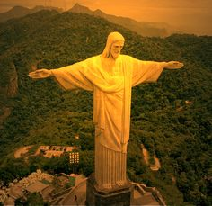 Cristo Redentor (Statue of Christ the Redeemer), Rio De Janeiro, Brazil Christ The Redeemer Statue, Brazil Travel, Dream Vacations, Cool Places To Visit, Beautiful World, Wonders Of The World, The Good Place, Budgeting, Things To Do