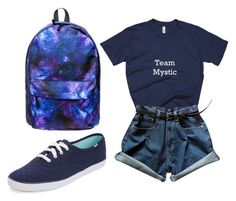 Designer Clothes, Shoes & Bags for Women Design Shop, Keds, Fig, Mystic, Rompers, Chocolate, Shoe Bag, Polyvore, Stuff To Buy
