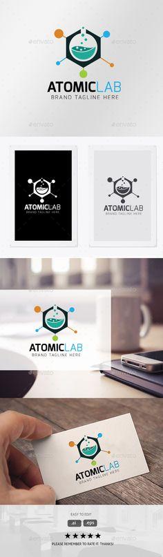 Atomic Lab: Symbol Logo Design Template created by Ark-Design. Informations About Atomic Lab Pin You Logo Design Template, Logo Templates, Water Drop Logo, Sale Logo, Logos Ideas, Bird Logos, Fashion Logo Design, Education Logo, Symbol Logo
