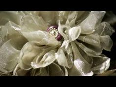 DIY fabric flowers from recycled curtains or drapes - #1 Petals