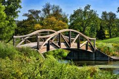 Wheaton Northside Park Bridge by Christopher Arndt Bridge Painting, Picture Site, My Kind Of Town, Local Attractions, Children's Place, Illinois, Image Search, Places To Go, Island