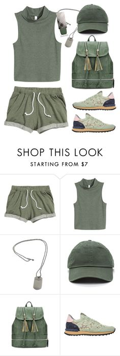 """Sweatshorts"" by thestyleartisan ❤ liked on Polyvore featuring Tiffany & Co., Valentino, Burberry and baseballcap"