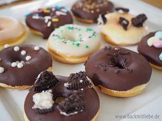 Backrezepte mini donuts