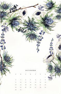 2016 Botanical Art Calendar (Wall Calendar)