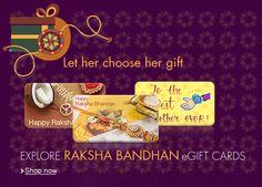 Let Her Choose Her Raksha Banhan Gift! | FabOffers.in