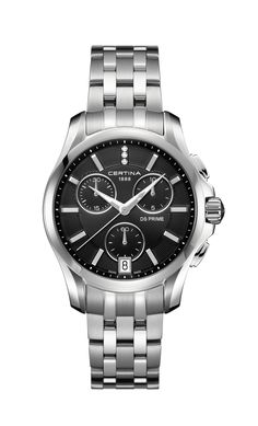 Certina Watch DS Prime Lady Round Chrono Quartz Watch available to buy online from with free UK delivery. Fine Watches, Cool Watches, Watches For Men, Luxury Watches, Rolex Watches, Omega Watch, Chronograph, Pandora, Quartz