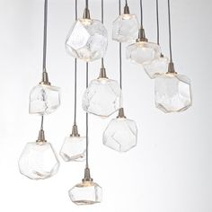 11 Gem LED Multipoint Pendant Light