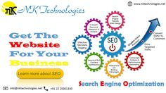 """SEO stands for """"Search Engine Optimization."""" it is the process of getting traffic from the  """"Unpaid,"""" """"Live,"""" """"Artical,"""" or """"Common"""" search results on search engines. Please visit our website:- www.nktechnologies.net Or Drop us an email on :- info@nktechnologies.net"""