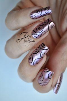 Kakine Nail Art #nail #nails #nailart | See more at http://www.nailsss.com/... | See more nail designs at http://www.nailsss.com/nail-styles-2014/