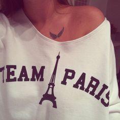Cute sweater and tattoo! :)