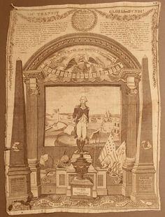 """George Washington, """"Sacred to Patriotism""""  $9,500"""