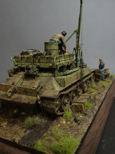 Dioramas and Vignettes: Armored recovery vehicle, photo #9