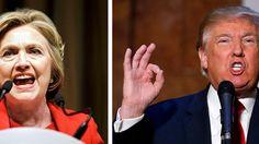 Abstand schmilzt dramatisch: Trump jetzt fast gleichauf mit Clinton
