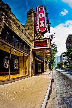 The Fabulous Fox Theatre in Atlanta, Georgia - a Landmark Visit Atlanta, Atlanta Travel, Atlanta Georgia, Georgia Usa, Georgia Girls, Georgia On My Mind, Places Ive Been, Places To Go, Best Of Intentions