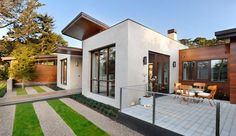 Modern green home design 2013