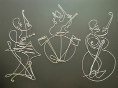 Wire Jazz Trio made to order by TheTinkaTree