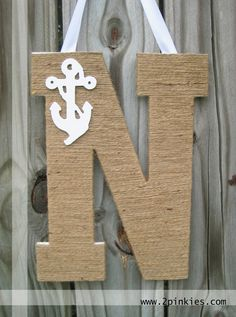 First letter of name. I may be doing nautical nursery regardless if Miksch baby #2 is boy or girl.