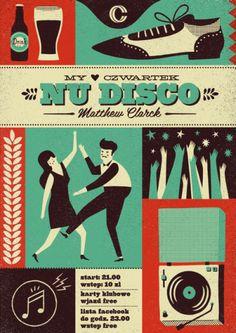 nu disco | poster