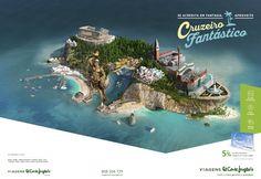 "Nice ""little world"" work in this ""Cruzeiro Fantástico"" promo from ""El Corte Ingles""."