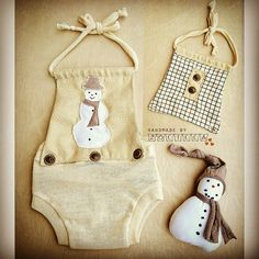 Newborn photoprops with snowman Newborn Fashion, Baby Rompers, Cute Outfits For Kids, Baby Sewing, Photography Props, Diy Clothes, Photo Props, Crochet Projects, Baby Gifts
