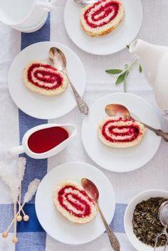 Recette - Gâteau roulé à la framboise | 750g