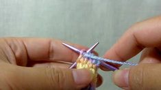 How to knit I-cord with 6 Stitches
