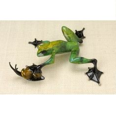 """""""Pond Pals"""" bronze sculpture from The Frogman Tim Cotterill"""
