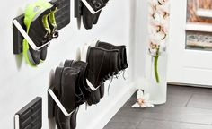Finding a quick, clean, convenient way to store your shoes is easier said than done, and it's even more difficult when you start talking about shoes covered in rain, slush or snow. German brand LoC...
