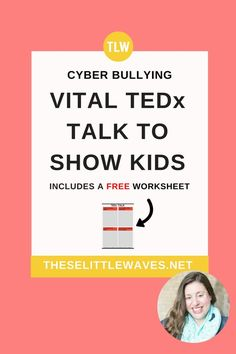 TED Talks for kids about bullying are excellent teaching tools for both parents (Teen Tech Week) Bullying Activities, Bullying Lessons, School Age Activities, Bullying Quotes, Stem Activities, Teaching Tools, Teaching Kids, Kids Learning, Teaching Quotes