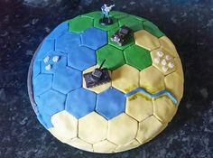 I baked a Civ cake! #CivilizationBeyondEarth #gaming #Civilization #games #world #steam #SidMeier #RTS