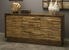 Here's our new Caledonia reclaimed pine wood dresser! What do you think? Do you love it as much as we do?