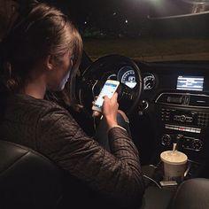Imagen de car, girl, and brunette