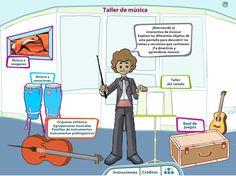 """""""Taller de Música"""" Recurso musical Interactivo"""