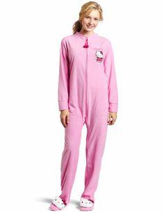 Hello Kitty Footed Pajamas #hellokitty | Hello Kitty Adult ...