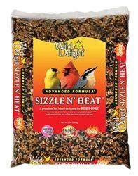 Wild Delight Sizzle N' Heat Bird Food - Birds love it! Squirrels don't!